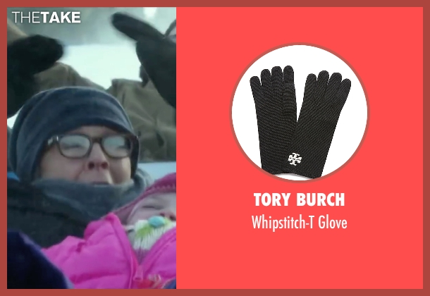 Tory Burch black glove from Love the Coopers seen with Diane Keaton (Charlotte)
