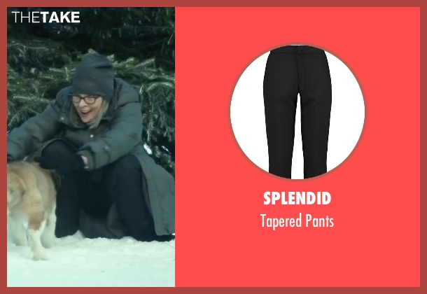 Splendid black pants from Love the Coopers seen with Diane Keaton (Charlotte)