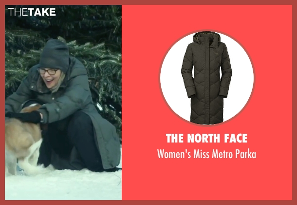 The North Face black parka from Love the Coopers seen with Diane Keaton (Charlotte)