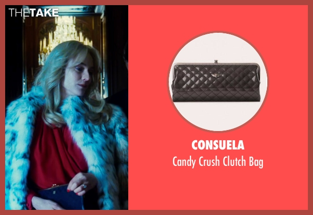 Consuela black bag from The Infiltrator seen with Diane Kruger (Kathy Ertz)