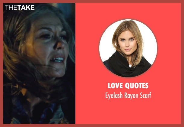 Love Quotes black scarf from Batman v Superman: Dawn of Justice seen with Diane Lane (Martha Kent)