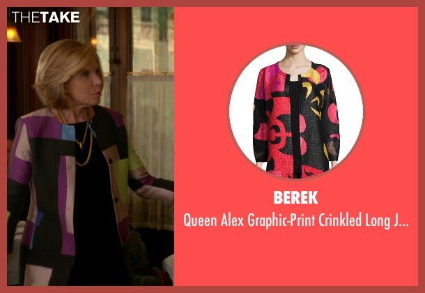 Berek black jacket from The Good Wife seen with Diane Lockhart (Christine Baranski)