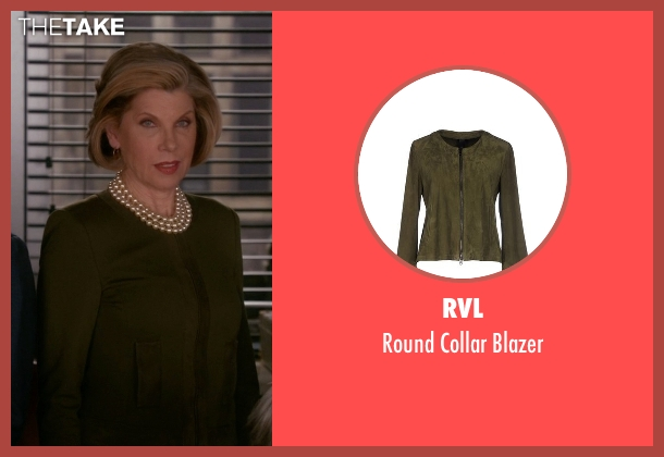 RVL green blazer from The Good Wife seen with Diane Lockhart (Christine Baranski)