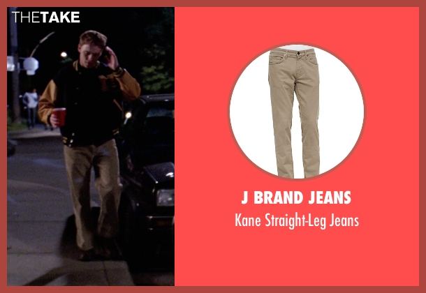 J Brand Jeans	 brown jeans from Mean Girls seen with Diego Klattenhoff (Shane Oman)
