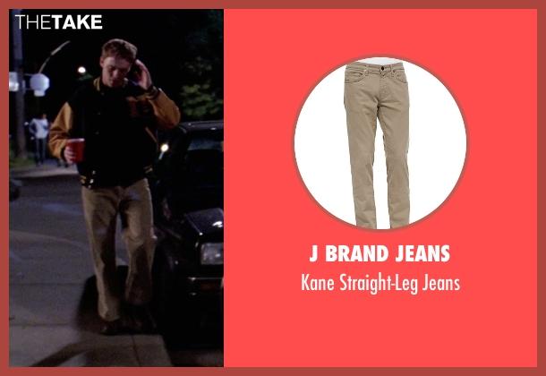 J Brand Jeans brown jeans from Mean Girls seen with Diego Klattenhoff (Shane Oman)