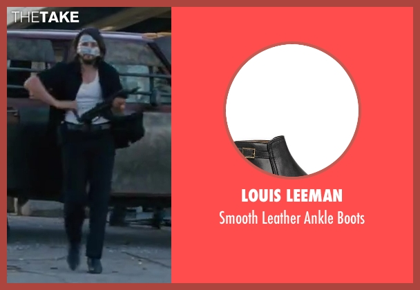 Louis Leeman black boots from Contraband seen with Diego Luna (Gonzalo)