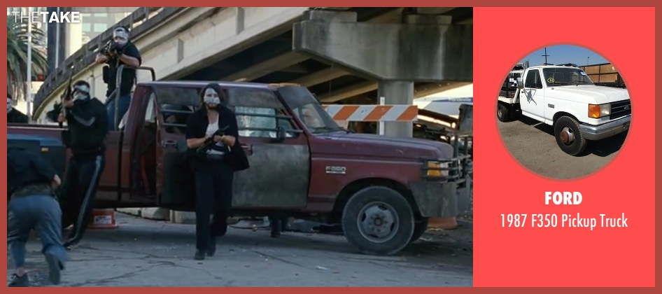 Ford truck from Contraband seen with Diego Luna (Gonzalo)