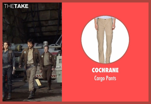 Cochrane beige pants from Rogue One: A Star Wars Story seen with Diego Luna (Captain Cassian Andor)