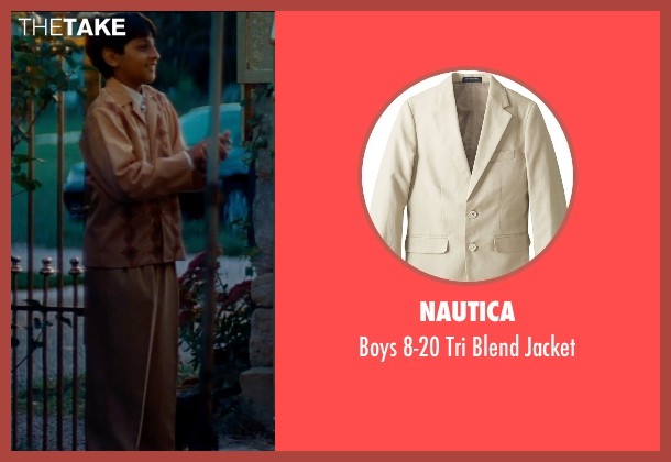 Nautica jacket from The Hundred-Foot Journey seen with Dillon Mitra (Mukthar Kadam)