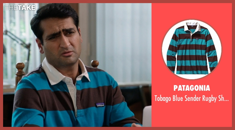 Patagonia blue shirt from Silicon Valley seen with Dinesh Chugtai (Kumail Nanjiani)