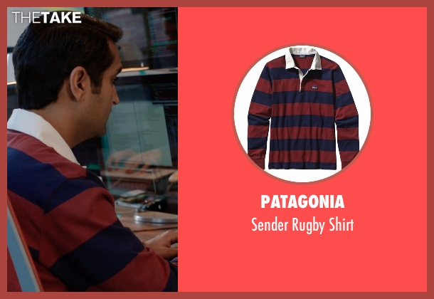 Patagonia red shirt from Silicon Valley seen with Dinesh Chugtai (Kumail Nanjiani)