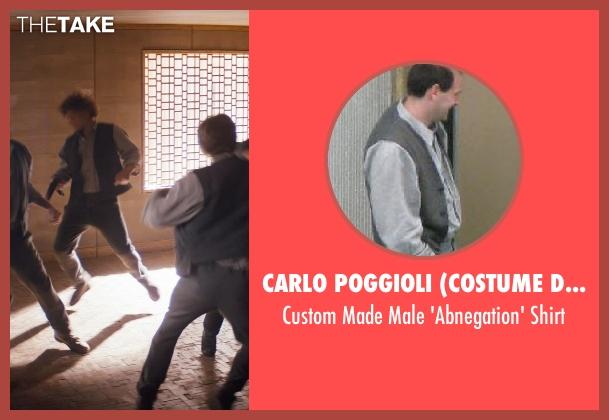 Carlo Poggioli (Costume Designer) gray shirt from Divergent