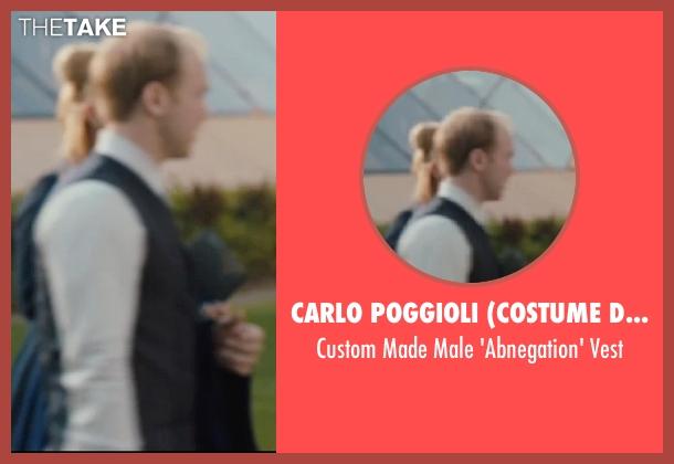 Carlo Poggioli (Costume Designer) gray vest from Divergent