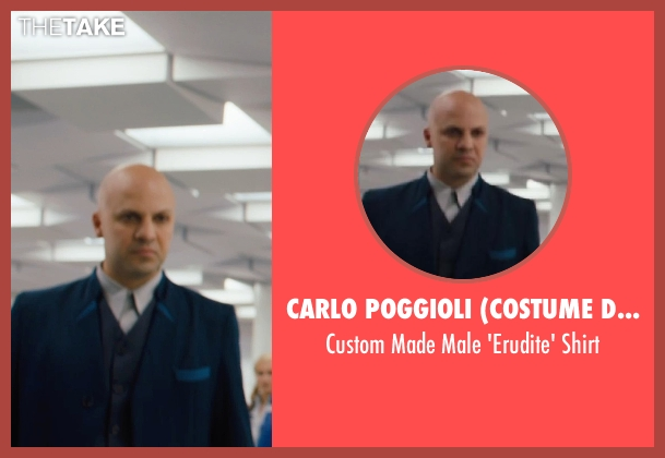 Carlo Poggioli (Costume Designer) shirt from Divergent