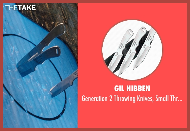 Gil Hibben thrower from Divergent