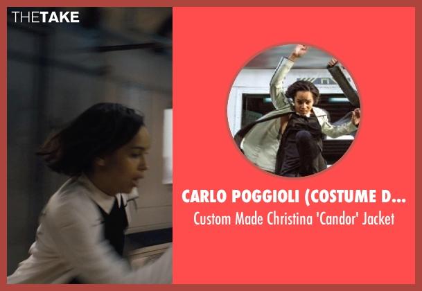 Carlo Poggioli (Costume Designer) white jacket from Divergent