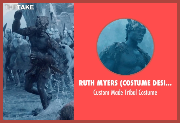 Ruth Myers (Costume Designer) costume from The Legend of Tarzan seen with Djimon Hounsou (Chief Mbonga)