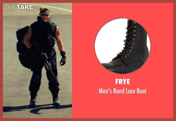 Frye black boot from The Expendables 3 seen with Dolph Lundgren (Gunner Jensen)