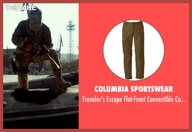 Columbia Sportswear brown pants from The Expendables 3 seen with Dolph Lundgren (Gunner Jensen)