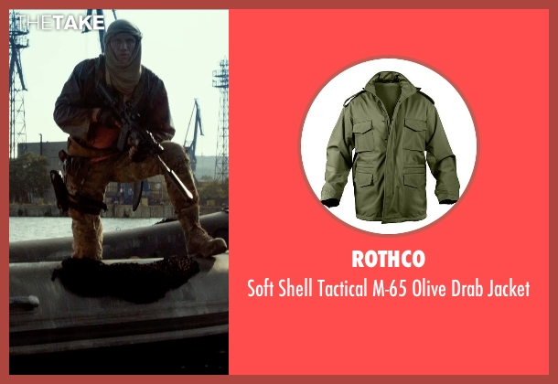 Rothco green jacket from The Expendables 3 seen with Dolph Lundgren (Gunner Jensen)