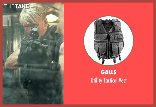 Galls vest from The Expendables 3 seen with Dolph Lundgren (Gunner Jensen)