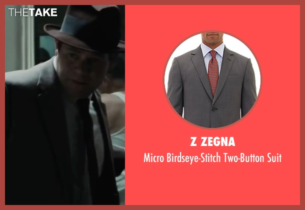 Z Zegna gray suit from Bridge of Spies seen with Domenick Lombardozzi (Agent Blasco)