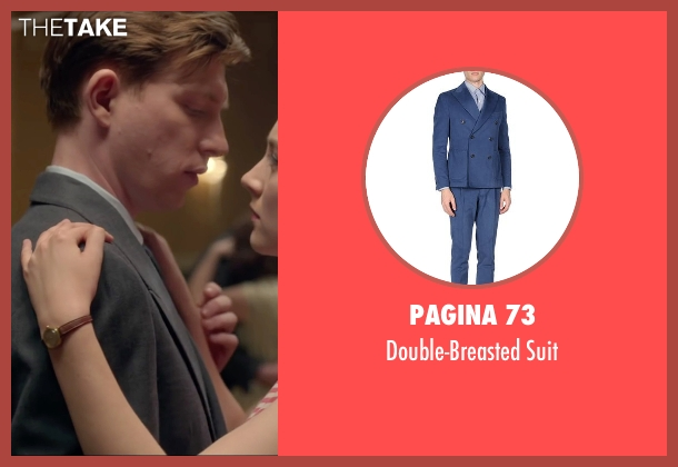 Pagina 73 blue suit from Brooklyn seen with Domhnall Gleeson (Jim Farrell)