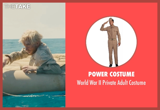 Power Costume costume from Unbroken seen with Domhnall Gleeson (Russell Allen 'Phil' Phillips)
