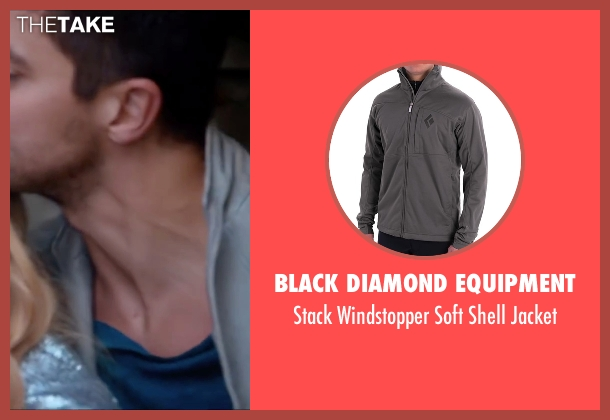 Black Diamond Equipment gray jacket from Miss You Already seen with Dominic Cooper (Kit)