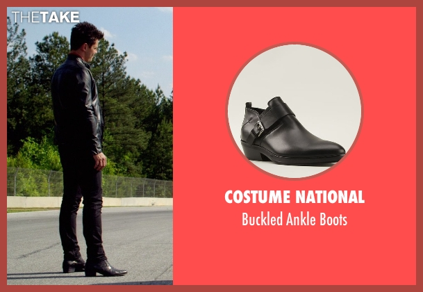 Costume National black boots from Need for Speed seen with Dominic Cooper (Dino Brewster)