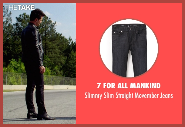 7 For All Mankind black jeans from Need for Speed seen with Dominic Cooper (Dino Brewster)