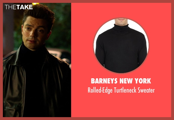 Barneys New York black sweater from Need for Speed seen with Dominic Cooper (Dino Brewster)