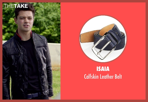 Isaia blue belt from Need for Speed seen with Dominic Cooper (Dino Brewster)