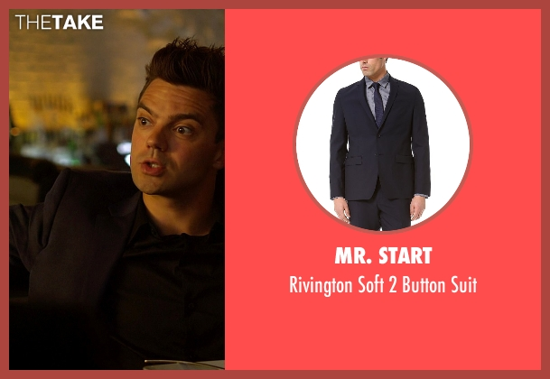 Mr. Start blue suit from Need for Speed seen with Dominic Cooper (Dino Brewster)