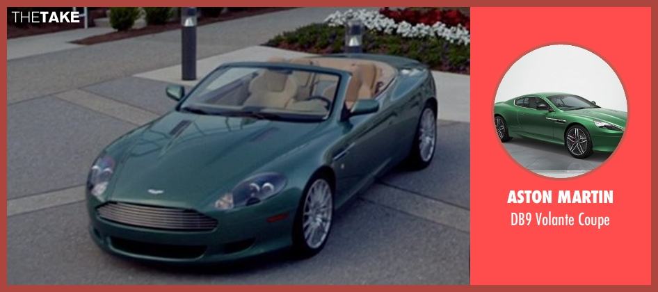 Aston Martin coupe from Need for Speed seen with Dominic Cooper (Dino Brewster)