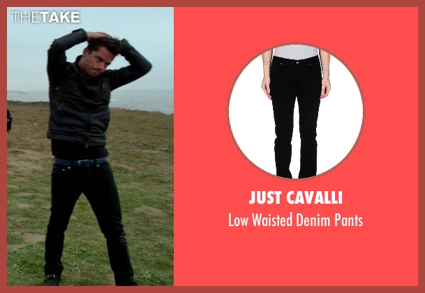 Just Cavalli pants from Need for Speed seen with Dominic Cooper (Dino Brewster)