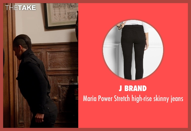 J BRAND black jeans from Vampire Academy seen with Dominique Tipper (Guardian Gabriela)