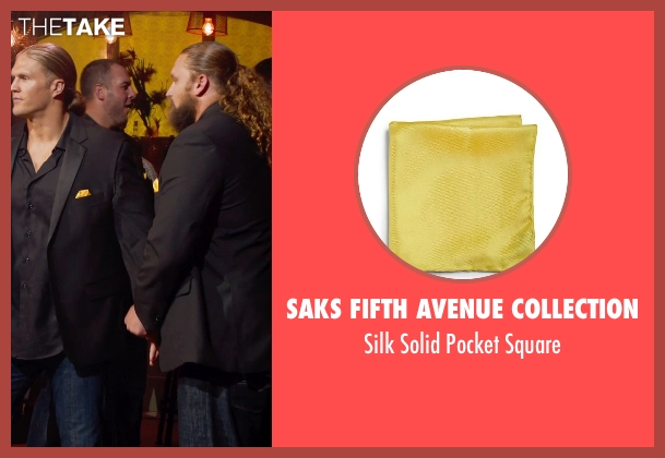 Saks Fifth Avenue Collection yellow square from Pitch Perfect 2 seen with Don Barclay (Unknown Character)
