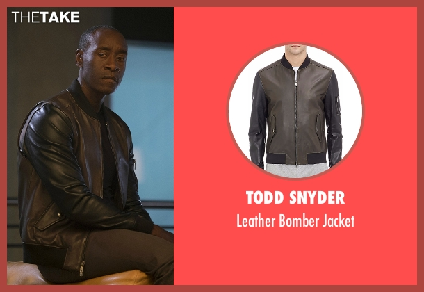 Todd Snyder jacket from Captain America: Civil War seen with Don Cheadle (Colonel James Rhodes / War Machine)
