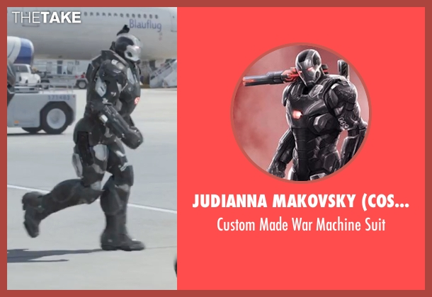 Judianna Makovsky (Costume Designer) suit from Captain America: Civil War seen with Don Cheadle (Colonel James Rhodes / War Machine)