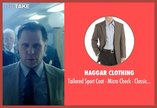 Haggar Clothing beige fit from Vice seen with Don Harvey (Kasansky)