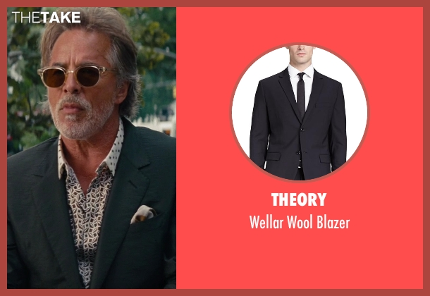 Theory black blazer from The Other Woman seen with Don Johnson (Frank)
