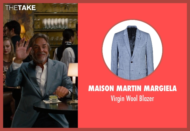 Maison Martin Margiela gray blazer from The Other Woman seen with Don Johnson (Frank)