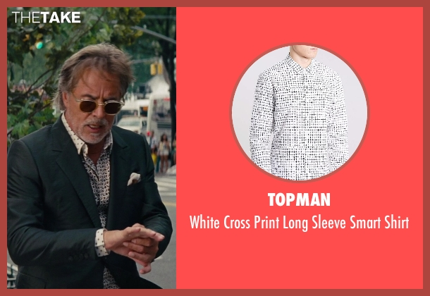 Topman white shirt from The Other Woman seen with Don Johnson (Frank)