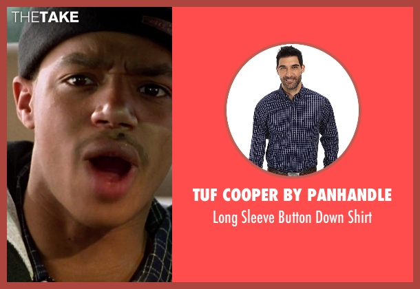 Tuf Cooper by Panhandle blue shirt from Clueless seen with Donald Faison (Murray)