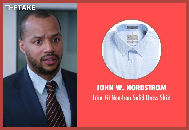 John W. Nordstrom blue shirt from Wish I Was Here seen with Donald Faison