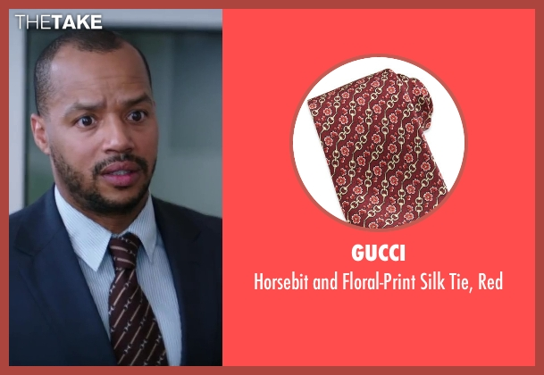 Gucci red red from Wish I Was Here seen with Donald Faison
