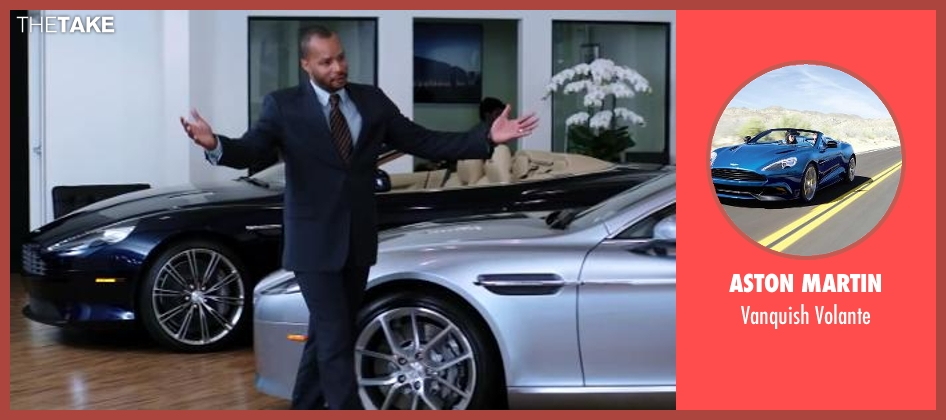 Aston Martin volante from Wish I Was Here seen with No Actor (Anthony)
