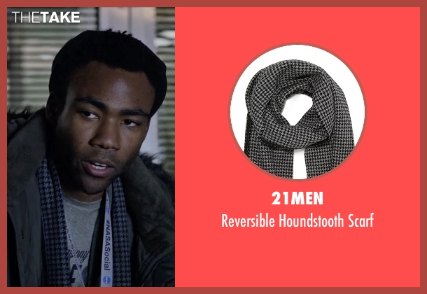21Men gray scarf from The Martian seen with Donald Glover (Rich Purnell)