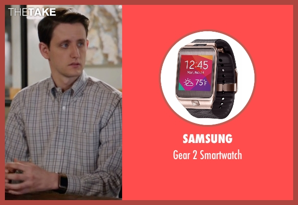 Samsung smartwatch from Silicon Valley seen with Donald 'Jared' Dunn  (Zach Woods)